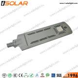 50 W de alta qualidade integrado em todos os 1 Bateria de iões de lítio Piscina Solar Luz de Rua