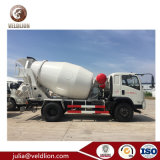 5M3 5 de la GAC 5000L Dongfeng Mélangeur de 4x2 chariot Chariot de mélange de béton avec pleine puissance de la prise de force