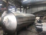 100L-50000personnalisés L réservoir de stockage horizontale en acier inoxydable