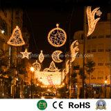 2D Motif decoración luz de la calle para uso exterior