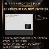 Nachrüsten-Sonnensystem des Wechselstrom-Energie-Speicher-Inverter-3kw mit UPS-Funktion