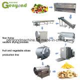 Non-Frying/secagem secas de vácuo fritos Kiwis Pêssego Plum Apple Chips de máquina de fatias de manga
