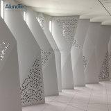 Для использования вне помещений декоративные алюминиевые перфорированные вырезанные на экране панели управления