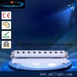 Питание от батареи беспроводной DMX LED Освещение на стену / 6 в 1 светодиодный индикатор заряда аккумулятора на базе беспроводной DMX бар лампа