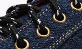Diseño especial de zapatos de encaje hasta Causal plana