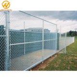 Gymnastik-Spielplatz-Zaun-Fußball-Sport-Bereich-Zaun-Kettenlink-Zaun für Baseball-Bereiche