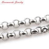 Горячая Продажа ювелирных изделий заводская цена мужчин девочек Link 316 бриллиантовое ожерелье из нержавеющей стали цепь