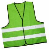 Vest van de Veiligheid van de groene of Rode Kleur het Weerspiegelende