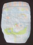 使い捨て可能なおむつの柔らかい綿の通気性のサイズS