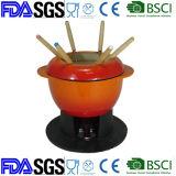 中国のFondueからのエナメルの鋳鉄の調理器具の製造業者