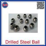 Personalizar 1mm a 200mm de alta dureza HRC56-62 perforado de cojinete de bola de acero cromado con el agujero