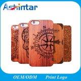 Plástico Retro+Caso cranio de madeira para iPhone caso gravura capa para telemóvel de Design para iPhone