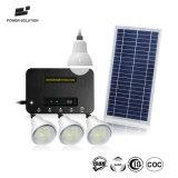 Hot vender la energía solar Inicio Sistema de iluminación LED con 4*2W iluminación lámparas de 4 habitaciones