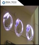 ologramma del diametro 3D di 100cm che fa pubblicità al ventilatore del LED con WiFi