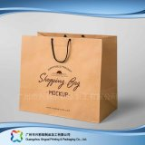 Gedruckter Papier-verpackenträger-Beutel für Einkaufen-Geschenk-Kleidung (XC-bgg-010)