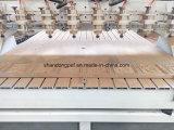 8つのスピンドルが付いている木製CNCのルーター機械マルチヘッド2030年