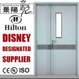 Ein und halbes Krankenhaus-Stahlbezirk-Raum-Tür