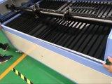 Двойник возглавляет резец автомата для резки лазера СО2 для резины, кожи