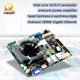 NasサーバーのためのFanlessかファン小型ITXマザーボードは、デュアル・チャネル24bit Lvdsのコネクターをサポートする