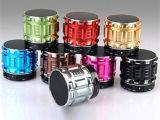 Metall, das bunten beweglichen drahtlosen MiniBluetooth Lautsprecher galvanisiert