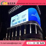 Colore completo completo esterno di colore P5/P6/P8/P10/P16/P20 del GM curvo facendo pubblicità al tabellone per le affissioni di /LED Sign/LED della visualizzazione di LED