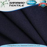 Tessuto di lavoro a maglia della Jersey del ringrosso dell'indaco tinto filato di alta qualità