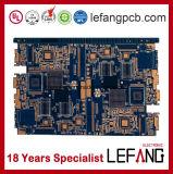 4 Schicht-Industrie-Steuercomputer Schaltkarte-Leiterplatte mit blauer Tinte