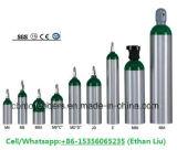 Cilindro di ossigeno di alluminio di Me-Formato (4.6L, OD=111mm)
