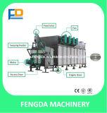 Secador de flutuação da alimentação dos peixes para máquina de secagem de alimentação animal