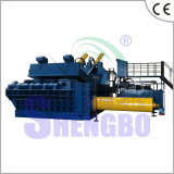 Aparas de aço hidráulicos automáticos que empacotam a máquina (fábrica)