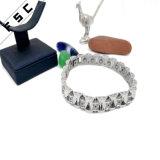 Armband van het Roestvrij staal van de Kwaliteit van het Kristal van de Bloem van de manier de Uitstekende voor Vrouwen