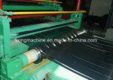 Ligne automatique machine de Rewinder de découpeuse de bobine en métal de vente chaude