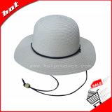 Chapéu de palha de palha de papel de palha