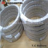 Законченный ролики цементированного карбида с высоким качеством