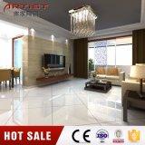 Mattonelle di pavimento lustrate bianche lucide della porcellana di promozione