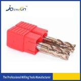 Moinho de extremidade contínuo Dia1mm-20mm do carboneto para a máquina do CNC