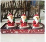 선물 상자 크리스마스 초, 파라핀 모양 초