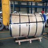 201/304 Bobine / bande à fente en acier inoxydable de grade 2b avec moulin / bordure