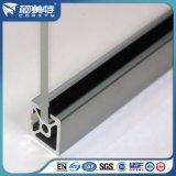 Partition en aluminium de toilette de profil de norme de l'OIN d'OEM/partition de salle de bains