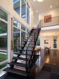 Treppenhaus-Hersteller-hölzerner Treppen-Schritt-moderner Entwurf für Innen