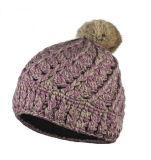 شتاء قبعة أكريليكيّة جاكار [بني] قبعة عالة [نيت] قبعة [بوم] [بوم] [بني] قبعة
