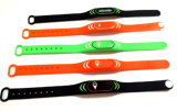Wristband силикона программы MIFARE классицистический EV1 1K RFID rewearable
