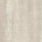 أبيض لون أسلوب خشبيّة جافّ خلفيّة غراءة إلى أسفل فينيل [بفك] أرضية