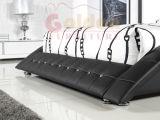 Итальянский король Девушка Кровать 2780 кровати кожи Верхн-Зерна