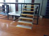 7-Paso escalera plegable escalera de aluminio para camping y autocaravanas