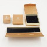 宝石類(J08-E1)のための環境に優しいクラフト紙のギフトの包装ボックス