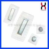 Botón magnético del galvanizado del PVC