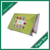 Personalizadas en la caja de papel del buñuelo
