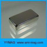 Grande ímã da terra rara do bloco para o separador magnético