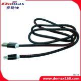 Hightの品質の黒い皮USBの充電器ケーブル